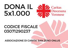 CF 03071290237 dona 5 per mille