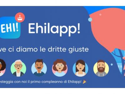 rappresentazione avatar per primo compleanno Ehilapp!