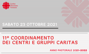Coordinamento Centri di Ascolto e Gruppi Caritas 2021