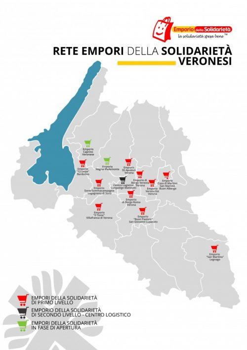 Mappa Empori della Solidarietà